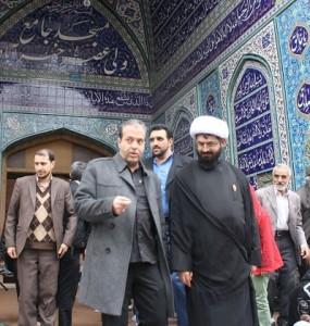 شهردار نمازجمعه خیرآباد