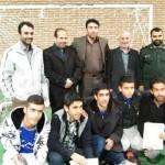 اختتامیه مسابقات فوتسال بسیجیان ورامین برگزار شد + تصاویر