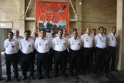یکهزار و یکصد و ۳۶ عملیات اطفاء حریق ظرف مدت یکسال در شهر ورامین