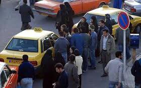 طرح پیشنهادی دو سرنشین در صندلی عقب تاکسی در شورای شهر تهران تصویب نشد