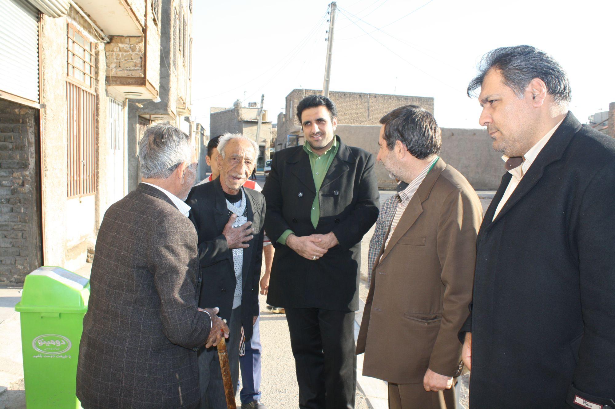 ورامین گردی رییس شورای اسلامی شهر به روایت تصویر