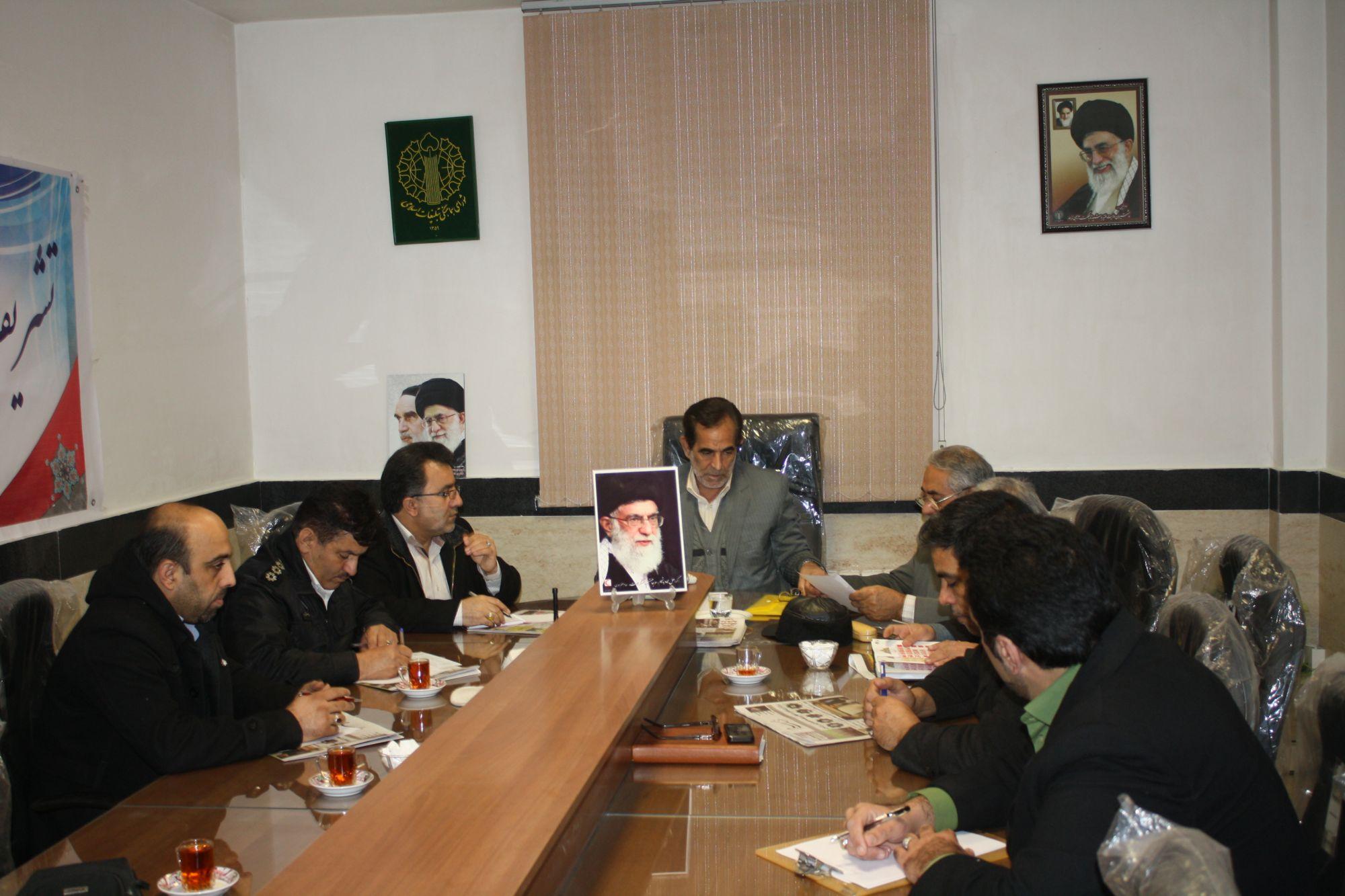 جلسه کمیته کاروان نمادین ورود حضرت امام خمینی ره شهرستان ورامین تشکیل شد+تصاویر