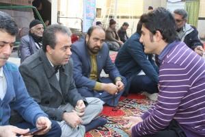 حضور شهردار در نماز جمعه شهر ورامین به روایت تصویر