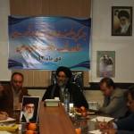 جلسه کمیته فضاسازی و تزئینات شهری ستاد دهه فجر شهر ورامین به روایت تصویر