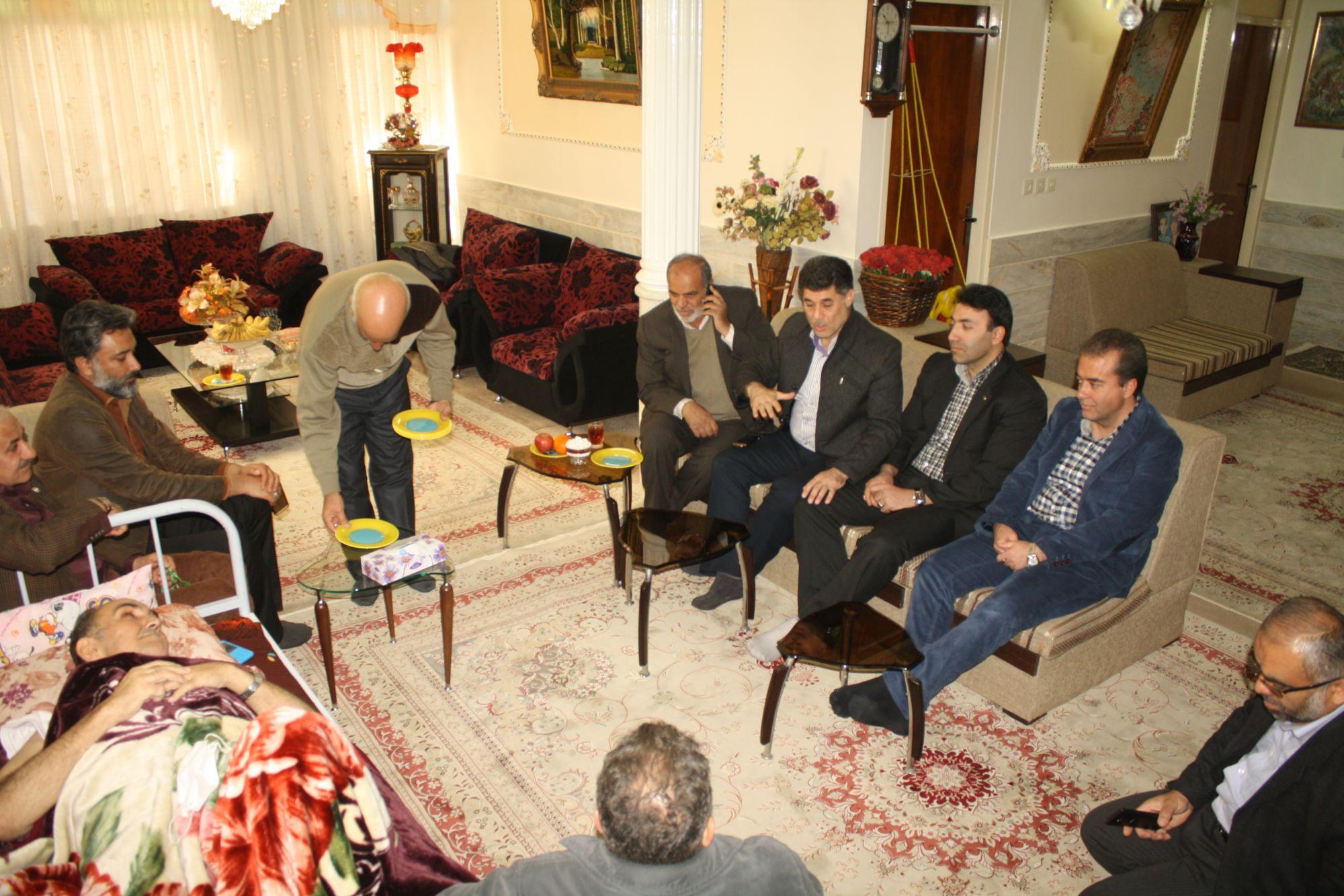 معلم جانباز و شهید زنده حاج محمد رضا سلیم خانیان به یاران شهیدش پیوست