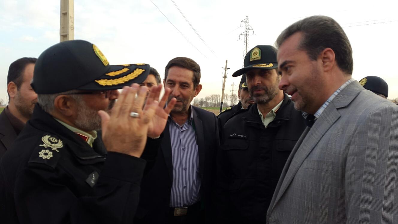 گزارش تصویری دیدار معاون هماهنگی نیروی انتظامی کشور با شهردار و رییس شورای شهر ورامین