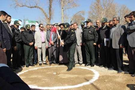 ۲۵۰,۰۰۰,۰۰۰,۰۰۰ میلیارد ریال زمین به نیروی انتظامی شرق استان تهران اختصاص یافت