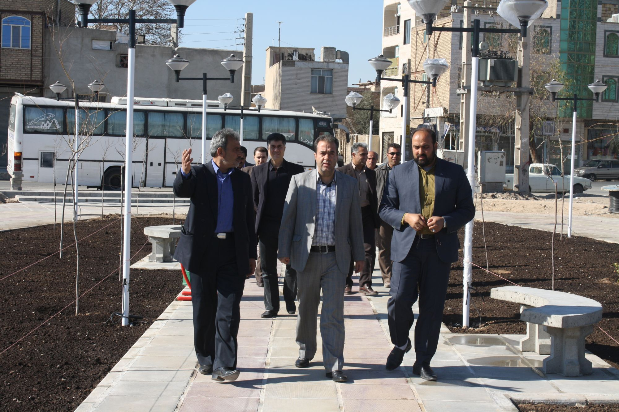 بازدید سرزده شهردار ورامین از پروژه های عمرانی در حال احداث
