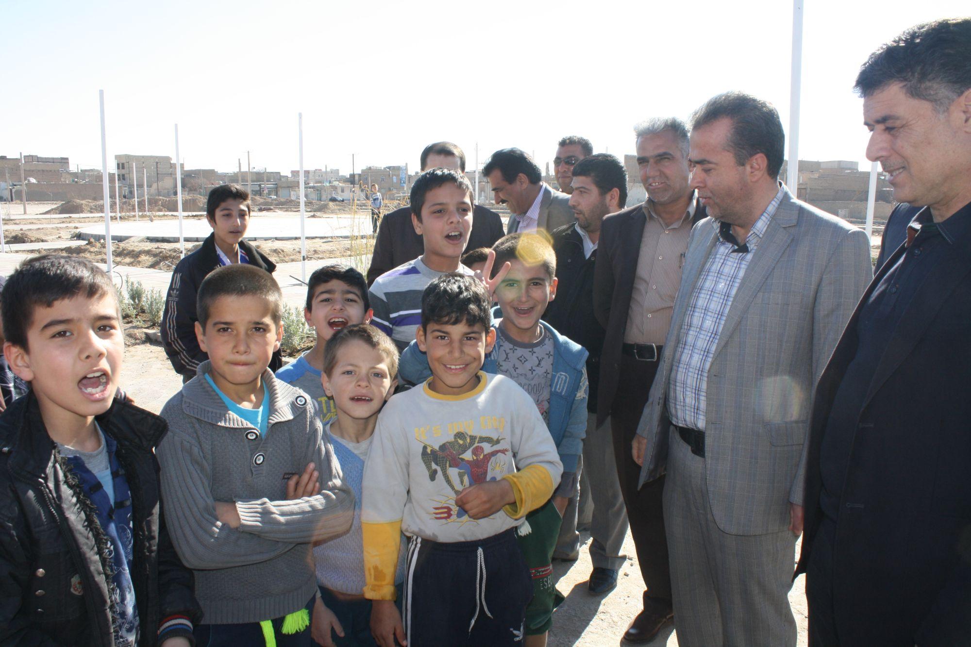 بازدید رییس شورای اسلامی شهرستان ورامین از پروژه های در دست اقدام شهرداری