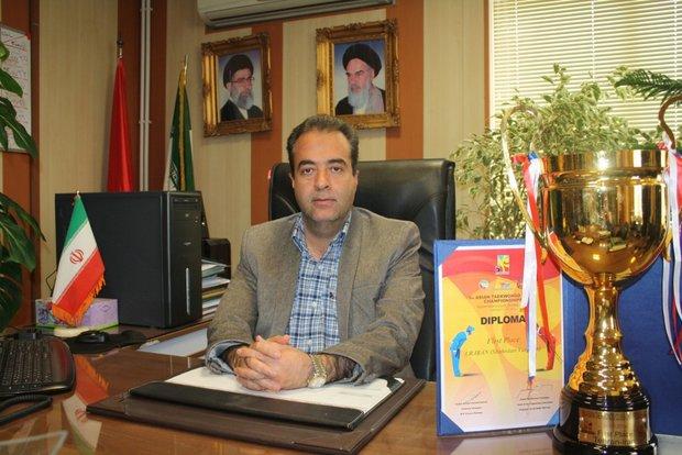 قهرمانی تیم تکواندو شهرداری پتانسیل ورزش ورامین را نشان داد