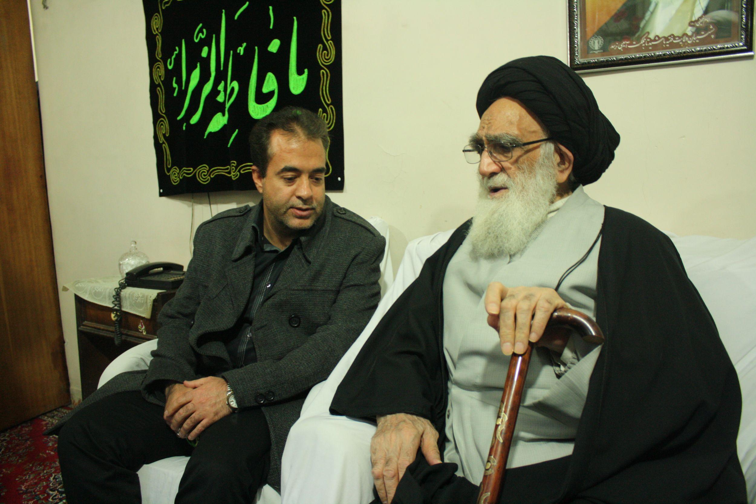 گزارش استقبال از آیت الله نوری همدانی توسط شهردار و اعضای شورای اسلامی شهر ورامین