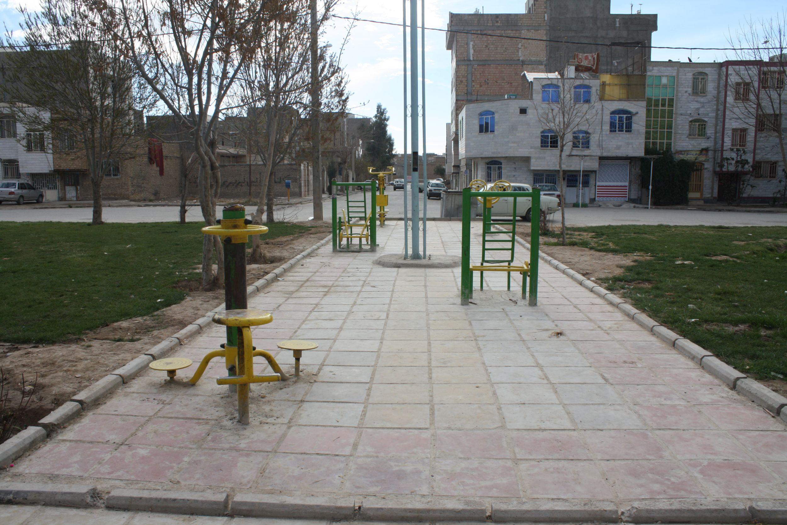 کارهای عمرانی در ناحیه ۳ شهرداری ورامین به روایت تصویر