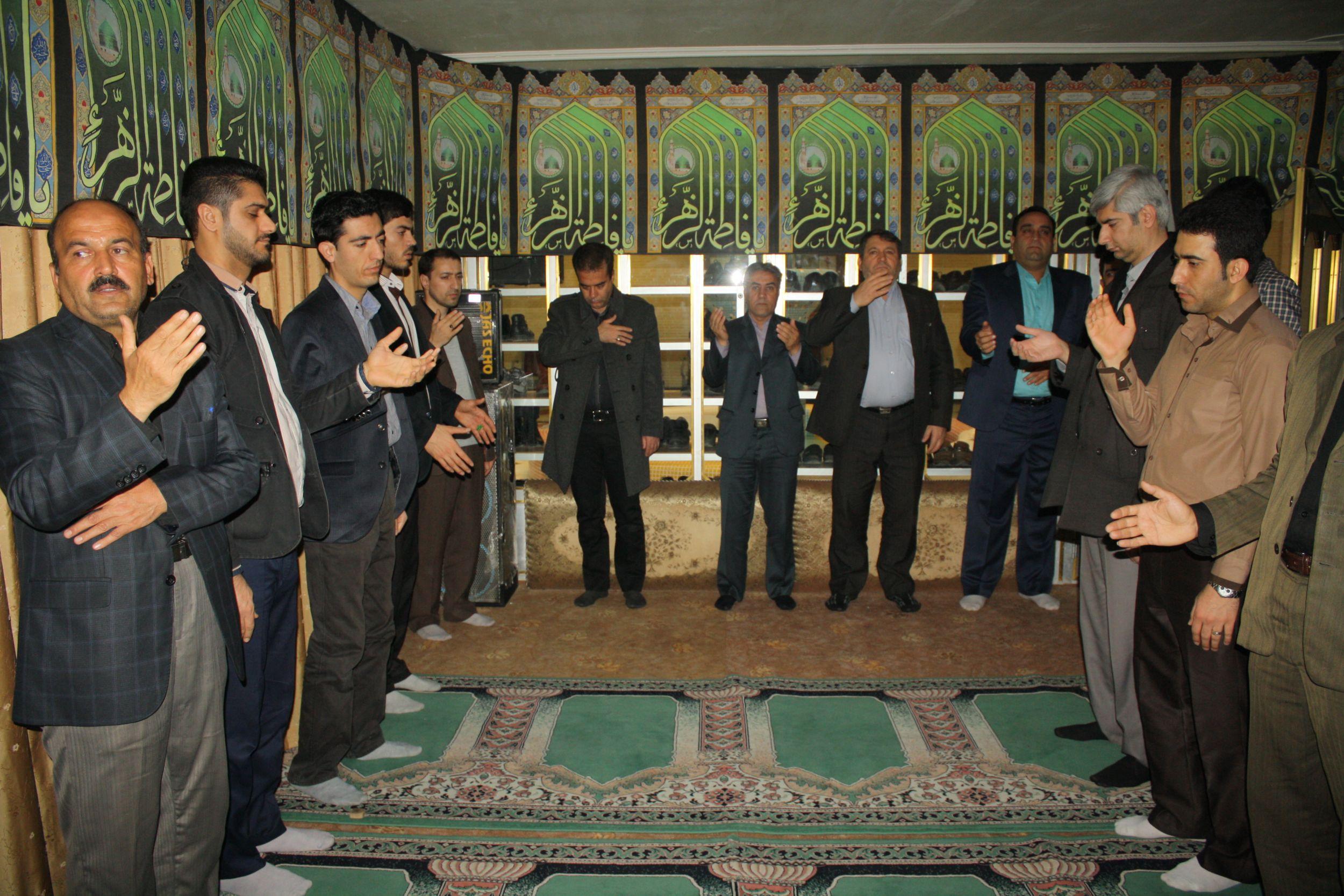 اقامه عزا بر مظلومیت حضرت فاطمه(س) به مدت ۱۰ روز در شهرداری ورامین