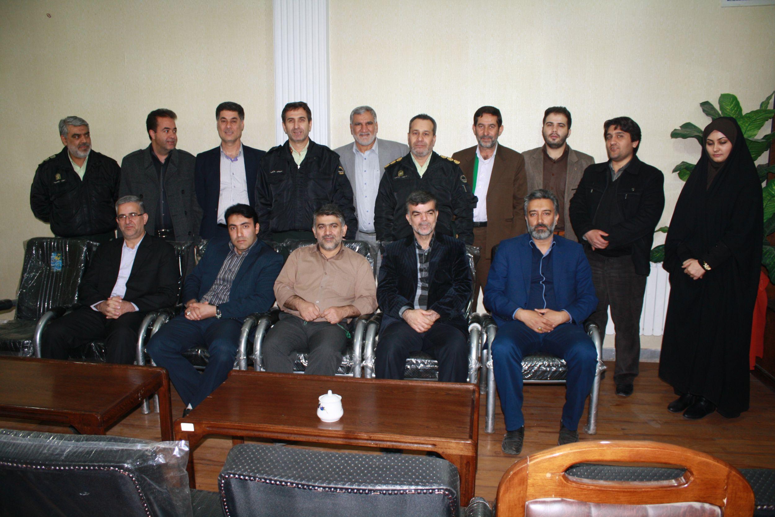 سردار فتحی در جلسه شورای اسلامی شهر ورامین