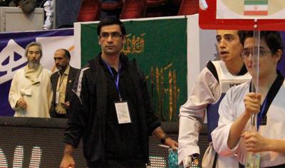 پیام خانلرخانی بهترین مربی لیگ برتر تکواندو ایران شد