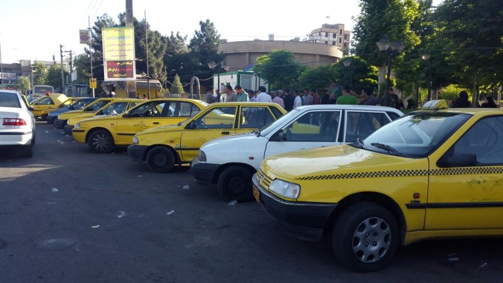 دستور شهردار ورامین برای ایجاد ایستگاه تاکسی در میدان رازی
