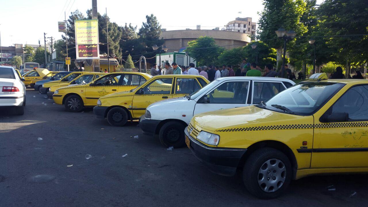 ایستگاه جدید  تاکسی میدان رازی به شهرری افتتاح شد+گزارش تصویری