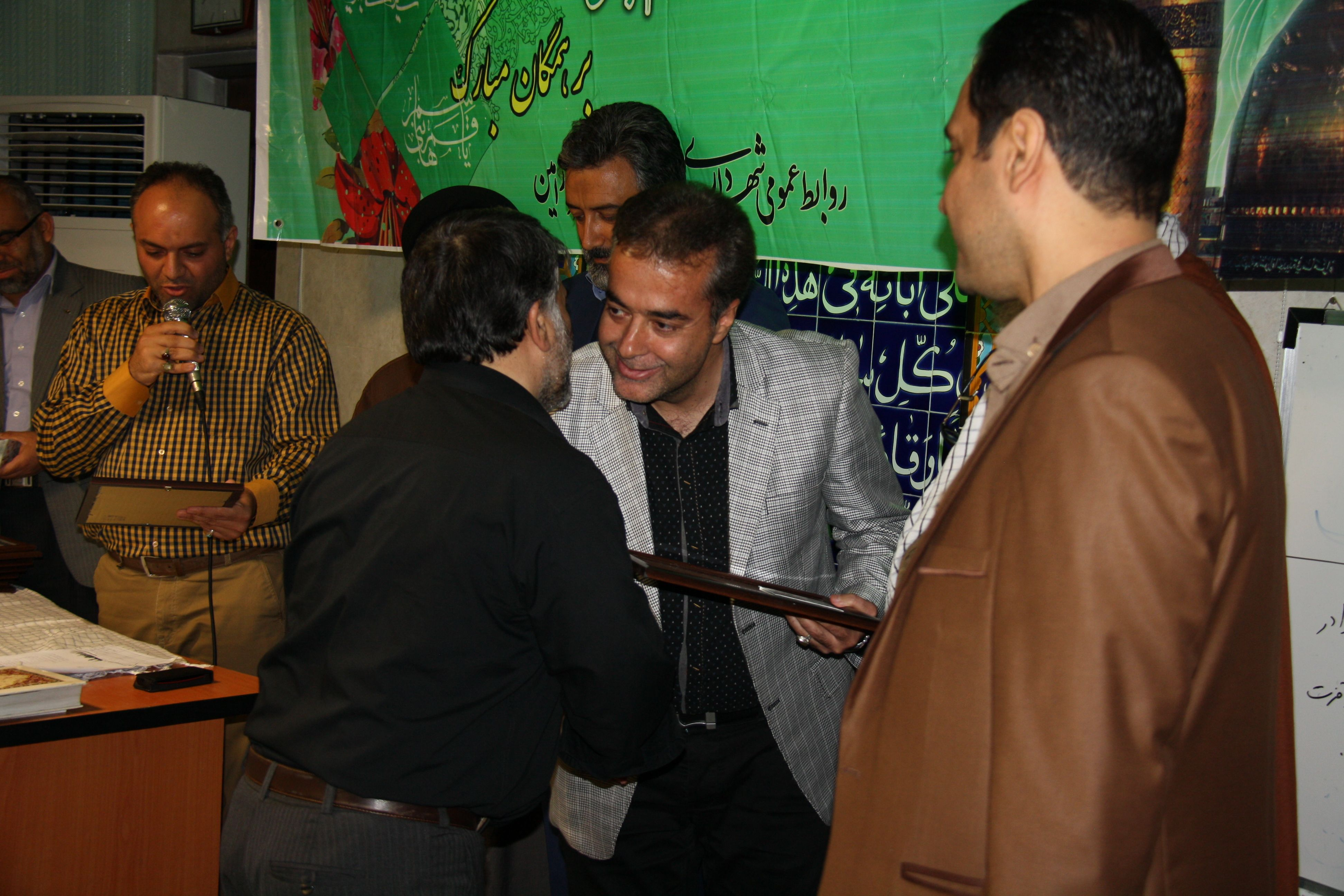 گزارش تصویری مراسم تجلیل ازایثارگران وجانبازان شورا و شهرداری ورامین