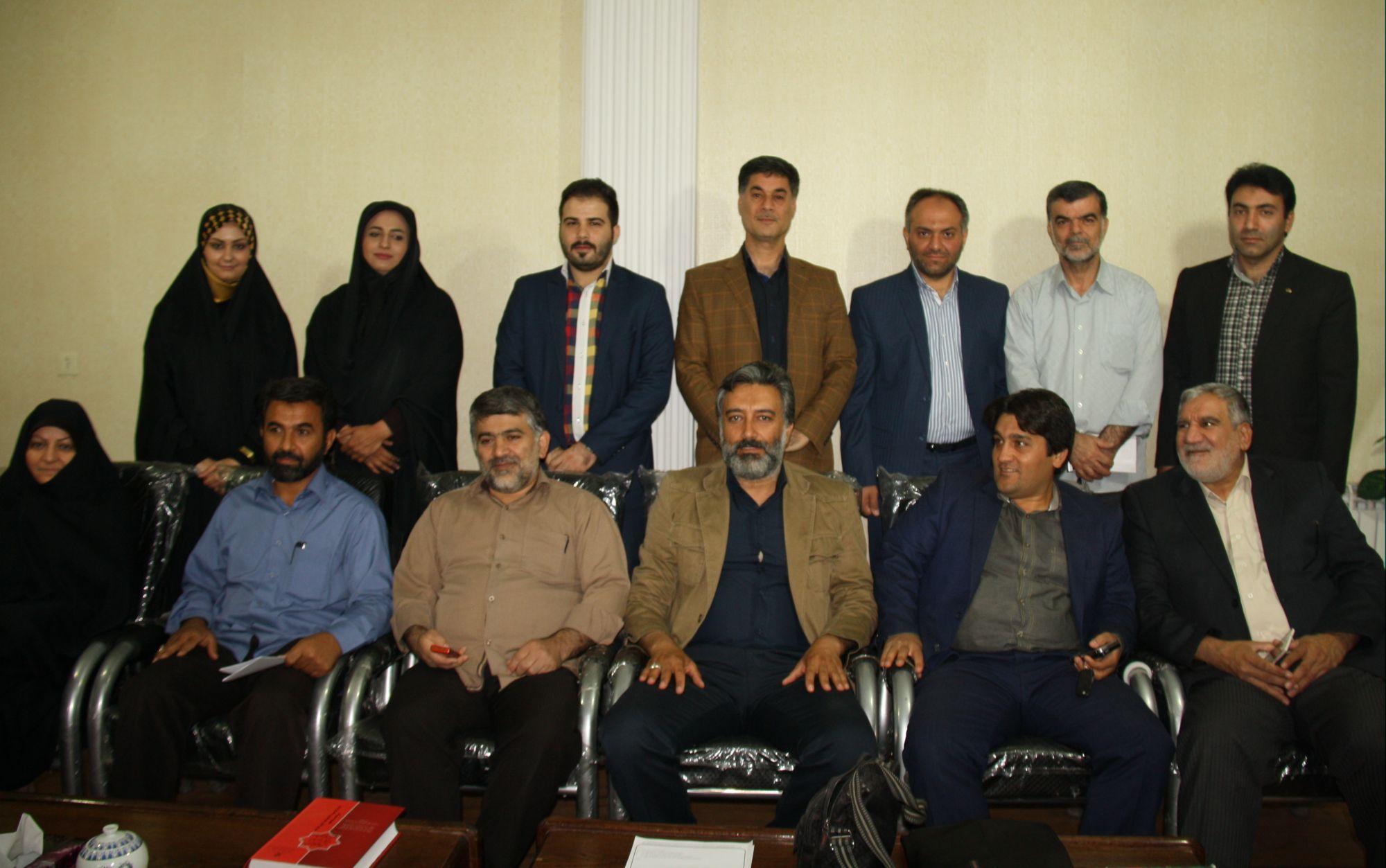 مراسم تحلیف دو عضو جدید شورای اسلامی شهر ورامین برگزارشد