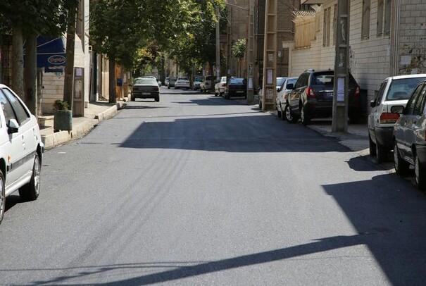 نهضت آسفالت در ورامین/خیابان هایی که رنگ آسفالت به خود گرفت