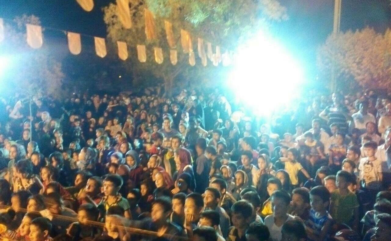 استقبال ویژه از «شبهای مهتابی» در ورامین+ تصاویر