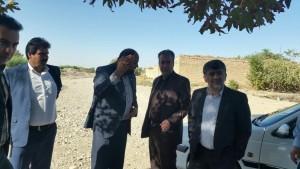 گزارش تصویری شروع به کار مجدد پروژه کمربندی جنوبی یک روز پس از بازدید شهردار و رییس شورای شهرورامین