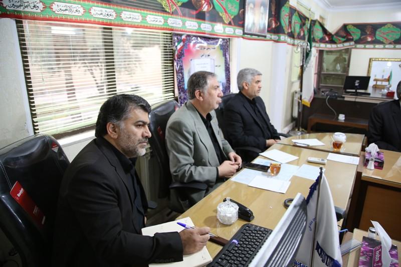 جلسه شورای اسلامی شهر ورامین به ریاست سید رضا احمدی برگزار شد