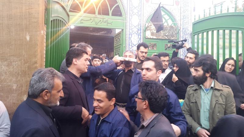 گزارش تصویری مراسم بدرقه خادمان ایستگاه صلواتی احباب الرضا(ع) ورامین