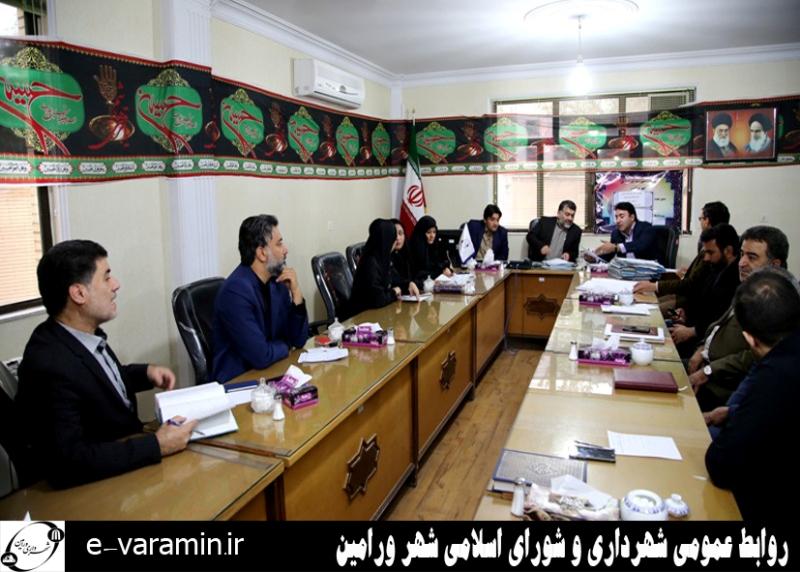 جلسه شورای اسلامی شهر ورامین برگزار شد