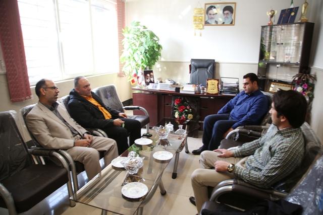 بازدید نایب رئیس شورای اسلامی شهر ورامین از سازمان آتش نشانی شهرداری