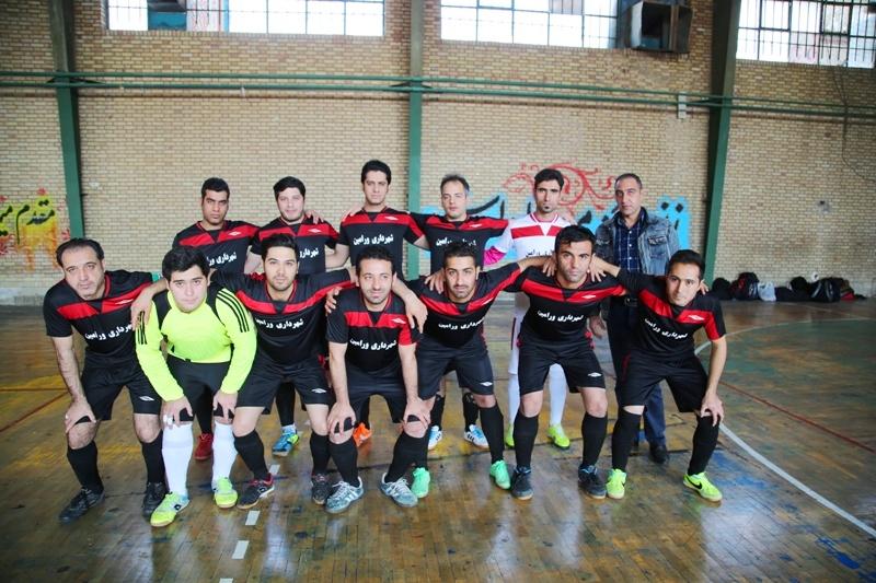 برد قاطع تیم فوتسال شهرداری ورامین در هفته ششم لیگ فوتسال شهرستان