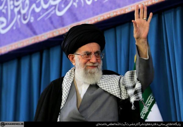 حضور و سخنرانی رهبر معظم انقلاب حضرت امام خامنه ای(مدظله العالی) در حرم مطهر رضوی