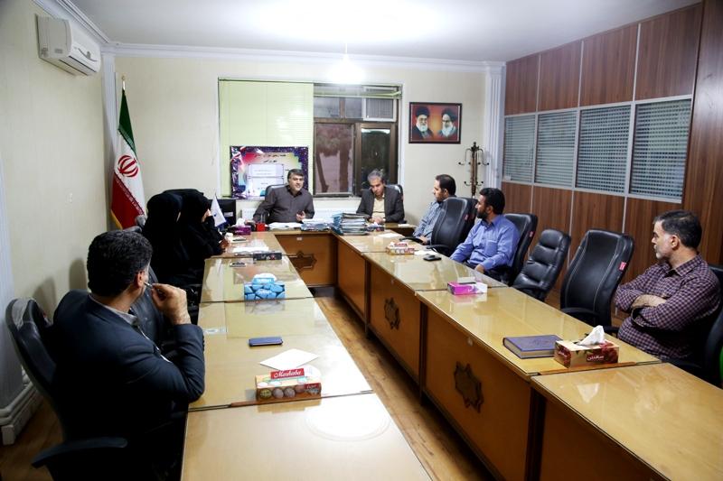 اولین جلسه شورای اسلامی شهر ورامین در سال۱۳۹۶ باحضور اعضای شورا وشهردار برگزار شد