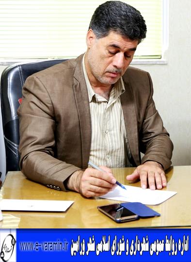 رییس شورای اسلامی شهرستان ورامین: مدیریت پسماند در ورامین جدی گرفته می شود/اجرای طرح های تشویقی