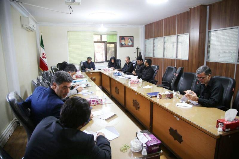 جلسه بررسی لوایح ونامه های رسیده به شورا ی شهر ورامین در پنج بندبرگزار شد