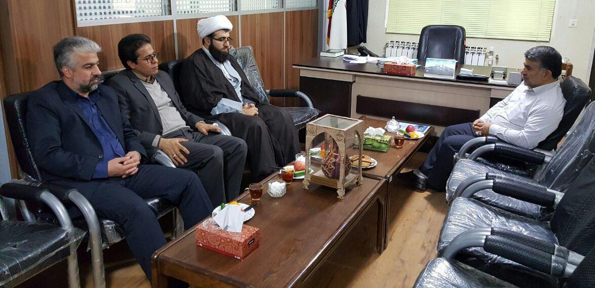 نشست ریاست کمیته امداد امام خمینی(ره) با رئیس شورای اسلامی شهر ورامین