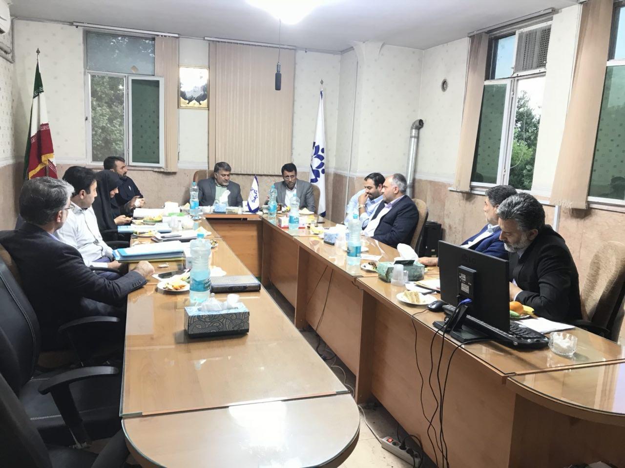 اولین جلسه رسمی شورای اسلامی شهر ورامین در سال هزارسیصد و نود و هفت